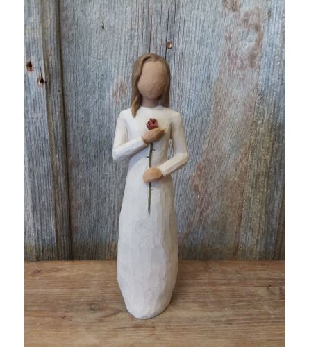 Statue - Willow Tree 'Love' (rose)