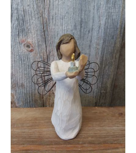 Statue - Willow Tree 'Angel of Hope' (candle)