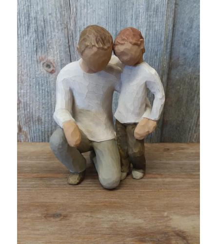 Statue - Willow Tree 'Father and Son'