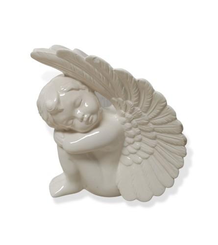 Resting Ceramic Angel