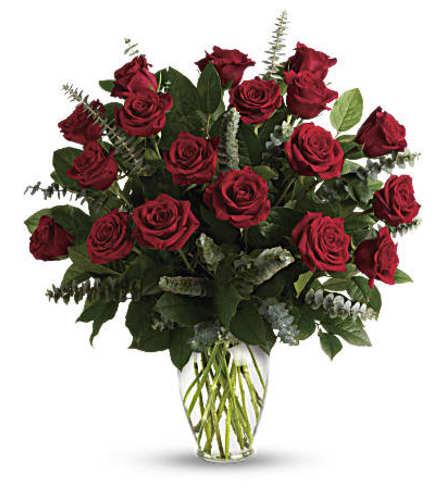 Eternal Love Red roses