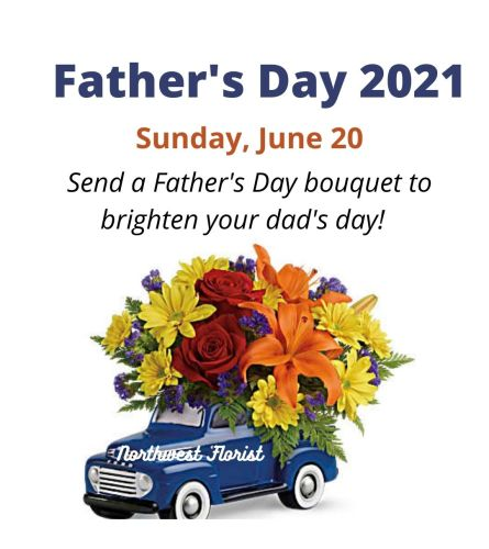 FATHER'S DAY IS SUN, JUNE 20TH