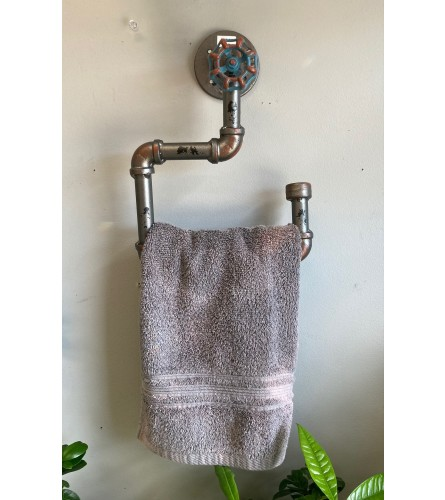 Towel Rack for Man Cave I