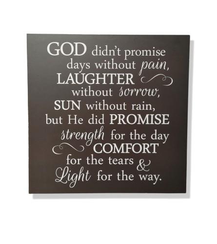 God's Promise Sign