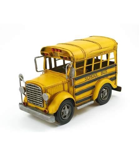 Metal School Bus I