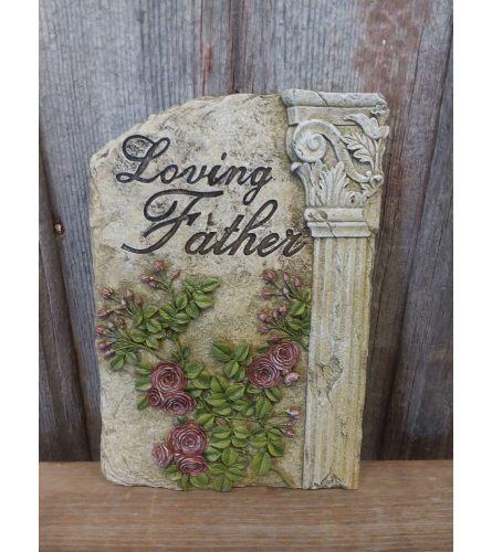 Plaque - 'Loving Father'