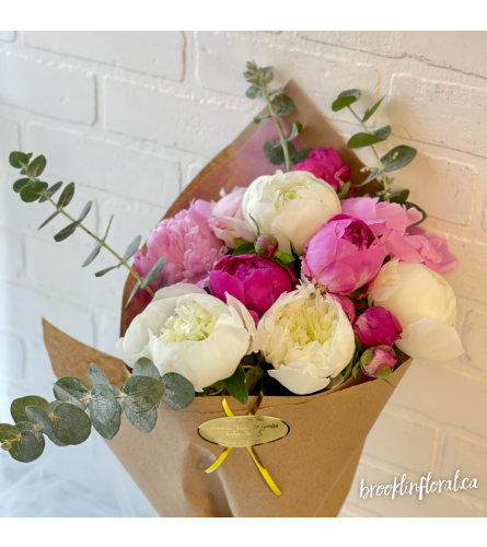 Sweet Peony Bouquet