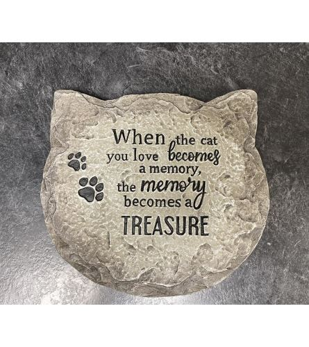 Cat Memorial Stone I