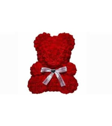 Red Roses Bear