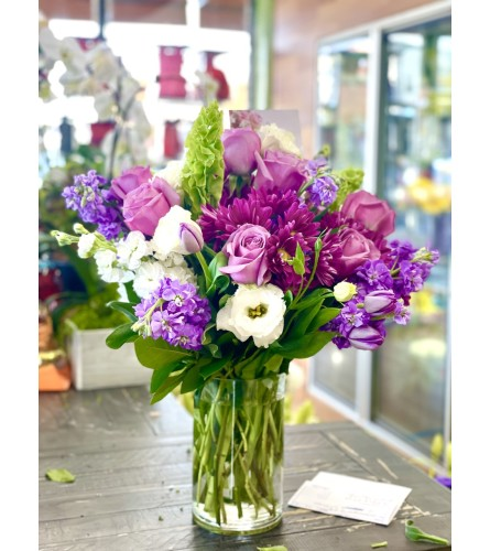 Purple Song Bouquet