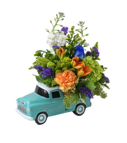 Chevrolet Pickup + Blooms