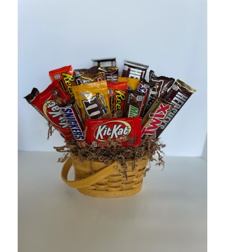 Sweet Tooth Candy Basket