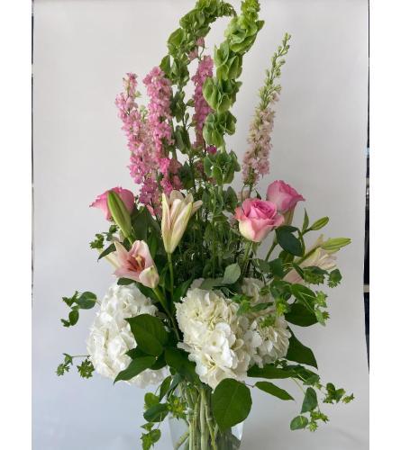 Fresh Floral Pinks (Standard Shown)