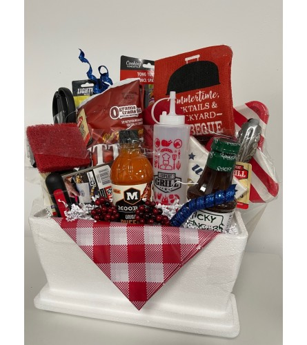 All American Barbeque Basket