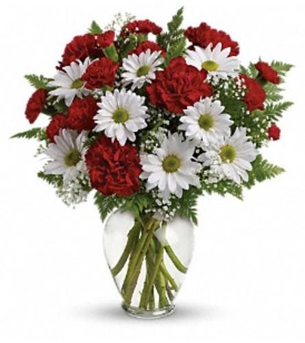 Kindest Heart Bouquet Vase Arrangement