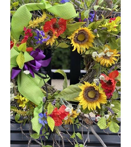 Happy Hour Wreath