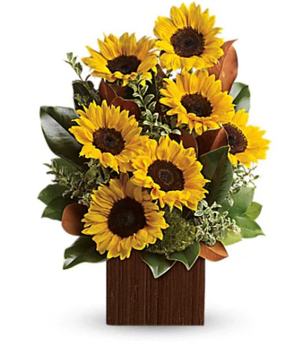 YOU'RE GOLDEN FLOWERS BY TELEFLORA