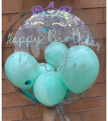 Birthday Bubble Balloon (Pre-Order Only)
