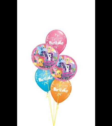 My Little Pony Birthday Classic Balloon Bouquet