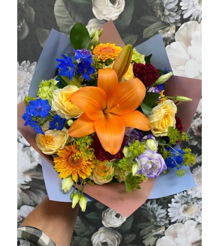 HAND TIED BOUQUET XI