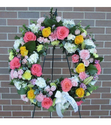 Gentle Remembrance Wreath