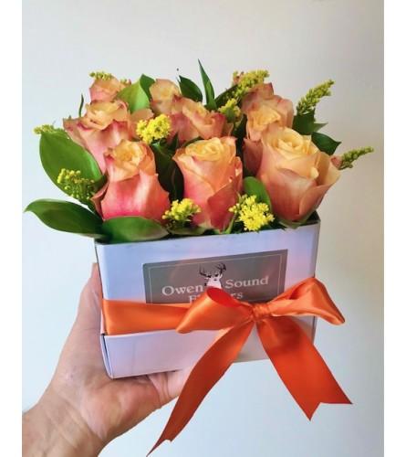 Autumn Lux Rose Box