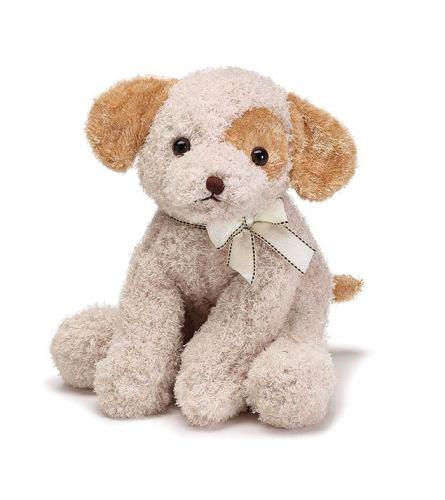 """Plush 11"""" Puppy (Brown/Tan)"""