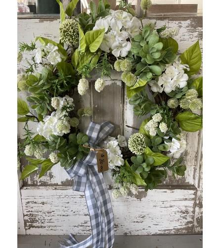 All Greenery Wreath