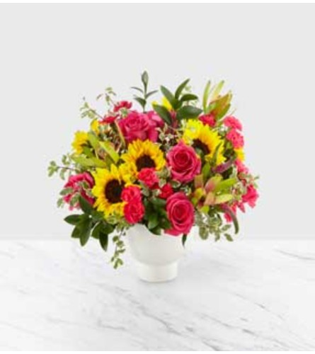 Bright sunflowers by O'Flowers
