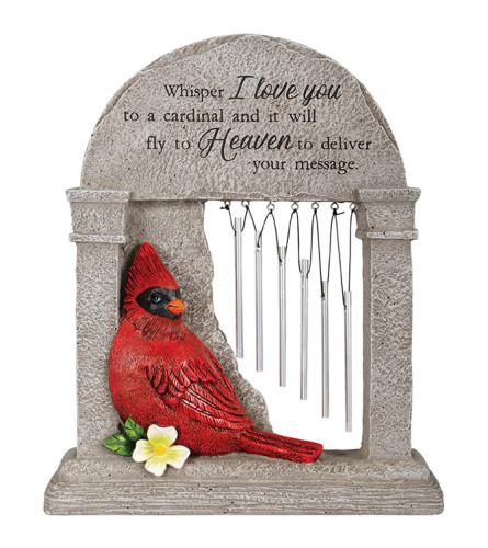 Heaven Cardinal Memorial Garden Chime