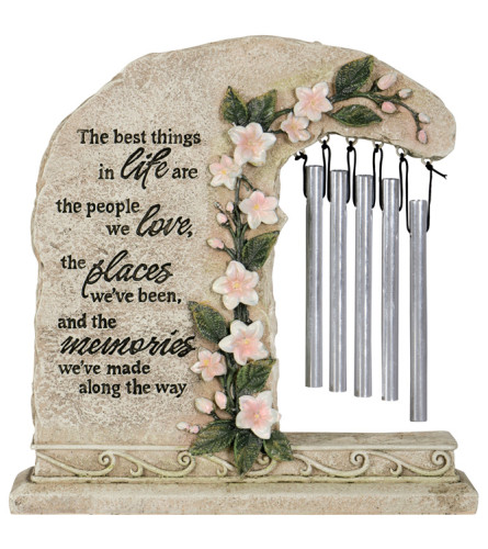 """Peaceful Reflections Garden Chime """"Memories"""""""