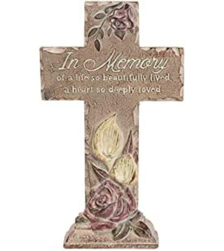 In Memory Pedestal Cross