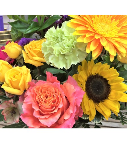 Tropical Sunshine Bouquet