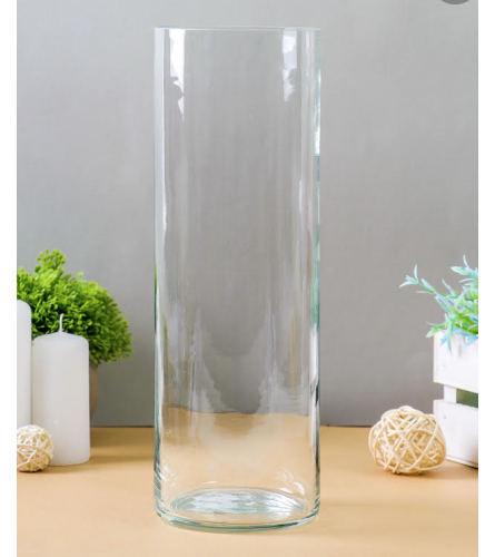 Clear Tall Vase