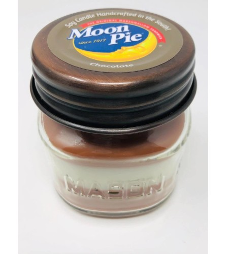 Moon Pie Chocolate Candle