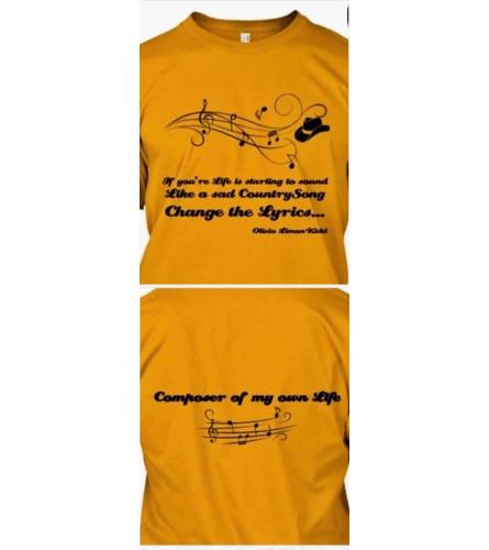 Country Lyric T-shirt