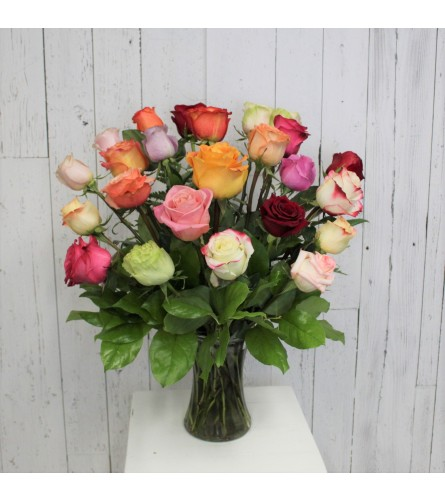 Premium 24 Color Rose Bouquet