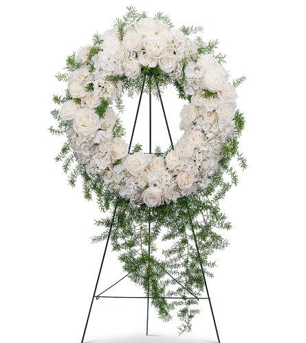Eternal Peace Elegant Wreath