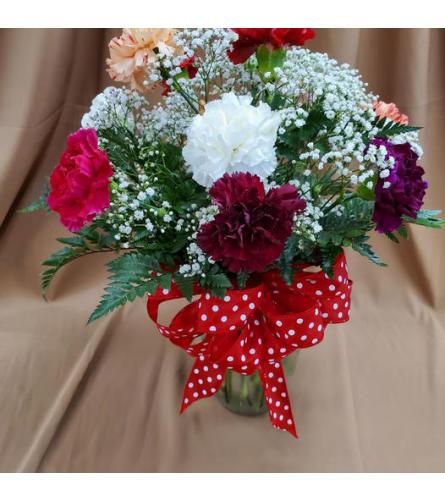 What in Carnation Arrangement