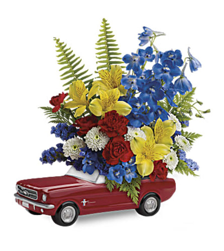 Sporty Mustang Bouquet