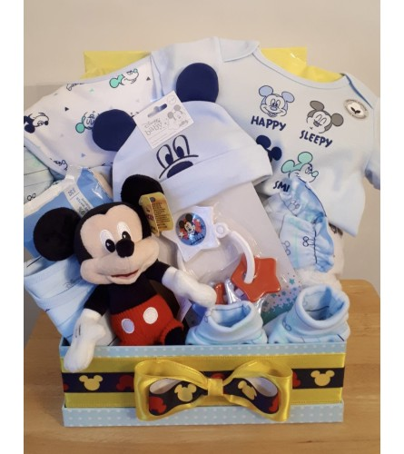 Baby's 1st Mickey Mouse Baby Basket