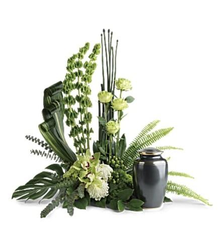 Emerald Zen Cremation Tribute