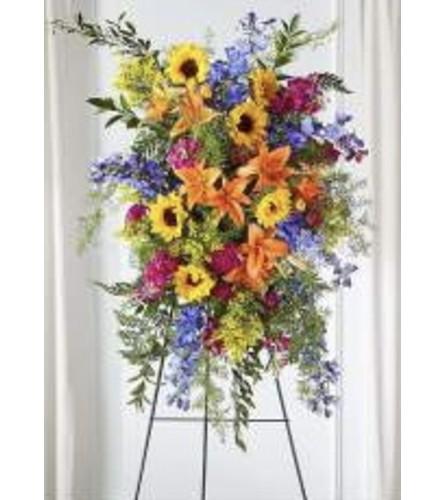 Sunflowers and Sunbeam Farewell