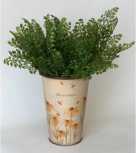 Floral Pail: Life Is Sweet (Plant Sold Separately)