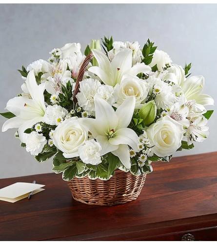 Serenity Blooms Basket