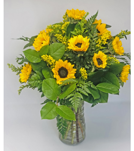 Summer Sunshine Sunflowers