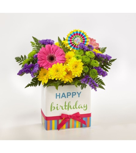FTD by Birthday Brights Bouquet