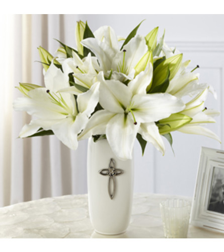 THE FAITHFUL BLESSINGS LILY BOUQUET