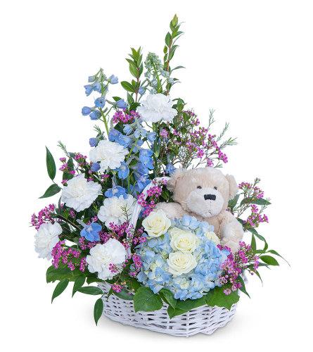 Beary Lovable Flower Arrangement