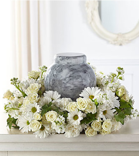Timeless Tribute Cremation wreath FTD